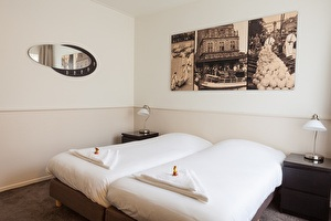 Tweepersoonskamer Hotel Stad en Land